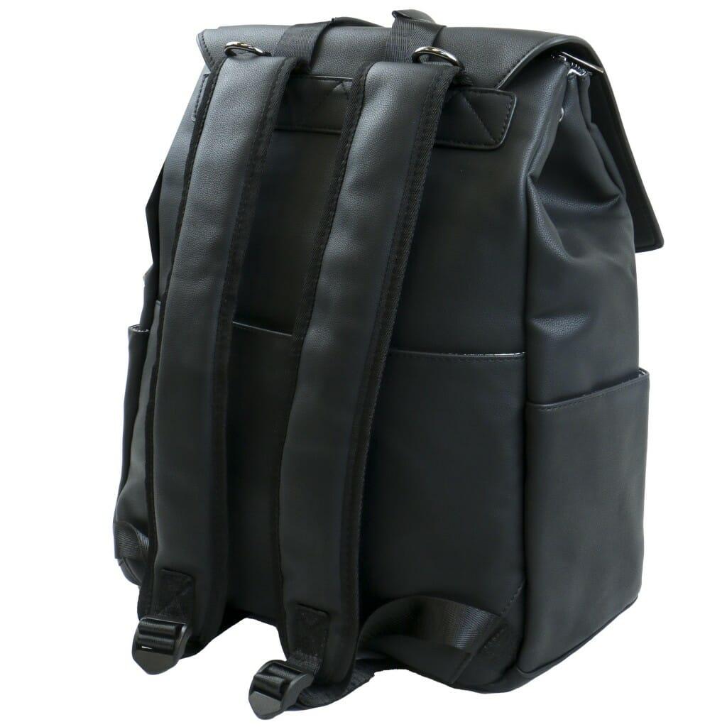 Isoki Hartley Backpack Onyx Rear Angle
