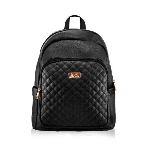 Isoki Marlo Backpack Ebony Front