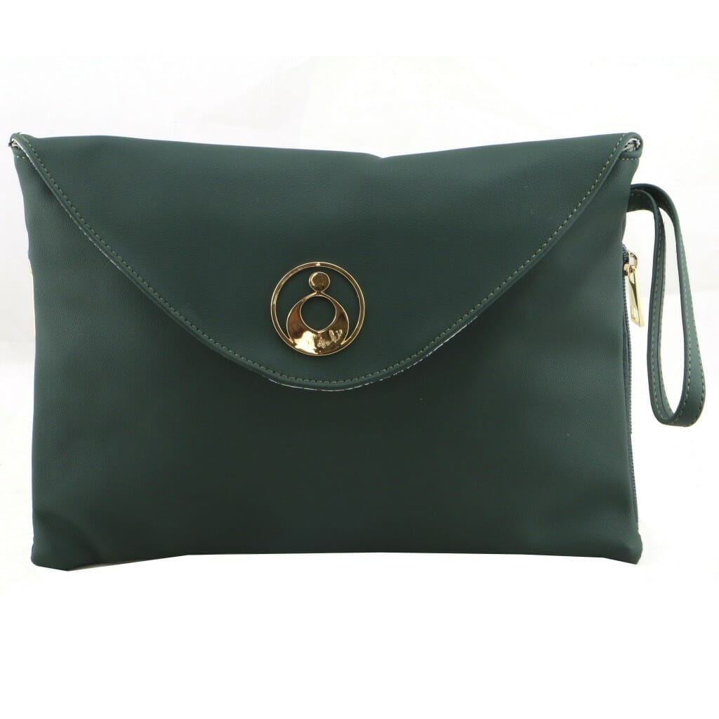 Isoki Windsor Change Mat Clutch Forest Front