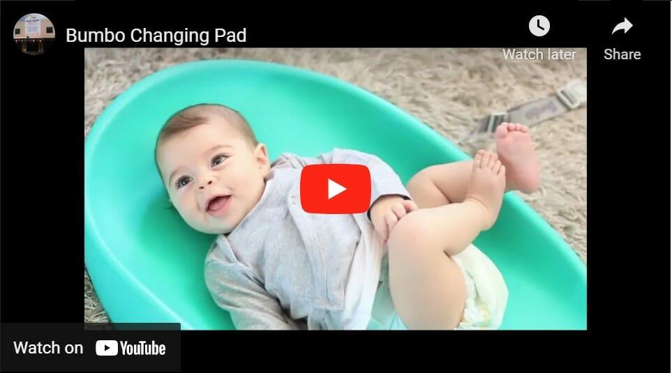 Bumbo Change Mat Video