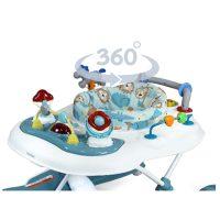 Babyhood Wild Things 5 In 1 Walker 360 Degrees